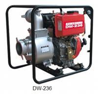 Motobomba Kawashima DW 236 4,2 HP - Diesel/Autoescorvante - partida manual/elétrica