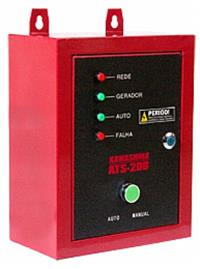 Painel ATS para geradores diesel Kawashima