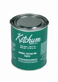 Tinta para tatuadeira Ketchum - Verde 643gr