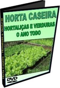 Horta Caseira - Hortaliças e Verduras o Ano Todo - DVD