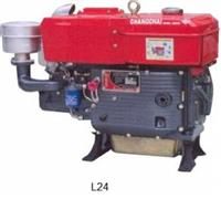 Motor Changchai L24/L24M - 22 HP - Diesel part. manual/elétrica