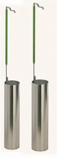 Caneca em alumínio para botijão YDS3-30-80 / YDS-35-90