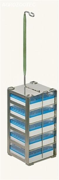 Rack Quadrada com gavetas para Criotubos - Botijões YDS 65-216