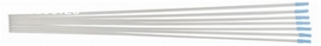 Pipeta plástica transparente para inseminação de equinos ponta arredondada