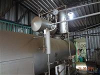 caldeira 600kg/hora pouco uso funcionando
