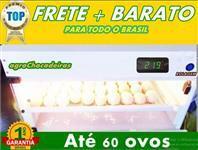 Chocadeira com Viragem Automática Digital até 60 Ovos De Galinha