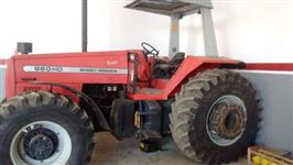 Trator Massey Ferguson 660 Advanced 4x4 ano 09