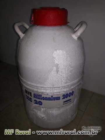 Botijão Nitrogenio Liquido Novo