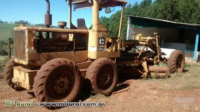 Trator Patrol Motoniveladora Caterpillar 120