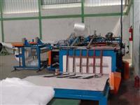 Maquina de corte de tecido de ráfia