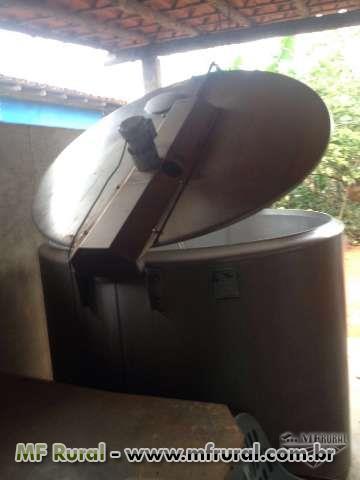Tanque Resfriador de Leite 2000L DELAVAL