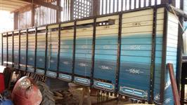 Carroceria Boiadeira 8 metros de comprimento para caminhão Truck