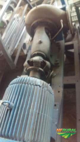 Bomba de irrigação com motor 40 CV