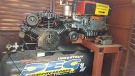 Compressor 100 pés com Motor Diesel