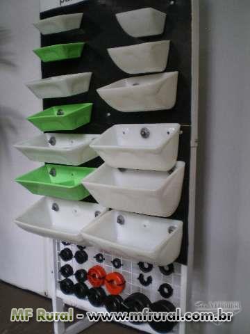 Caçambas plasticas para elevadores de silos