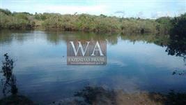 Fazenda com abundância de água no vale do Araguaia em Abreulândia-To