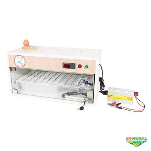 Chocadeira Automática 60 ovos Trivolt manual com controle de umidade (TU)