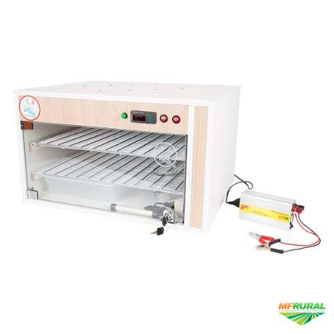 Chocadeira Automática 220 ovos Trivolt manual com controle de umidade (TU)