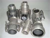 Engates Rápidos de Alumínio Completo com Relógio de Pressão